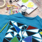 DECORATE YOUR HOME CLOTHES: PAINT ON FABRIC