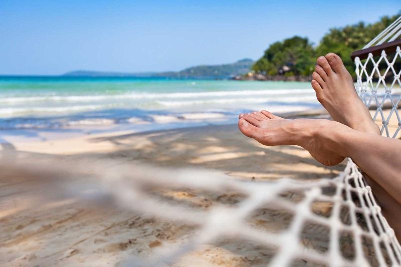 Summer foot care