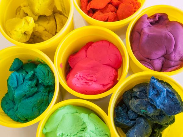 how to dry play doh