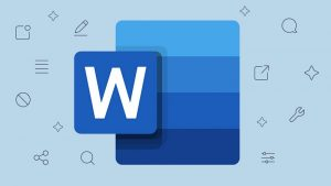 How to delete a page break in word